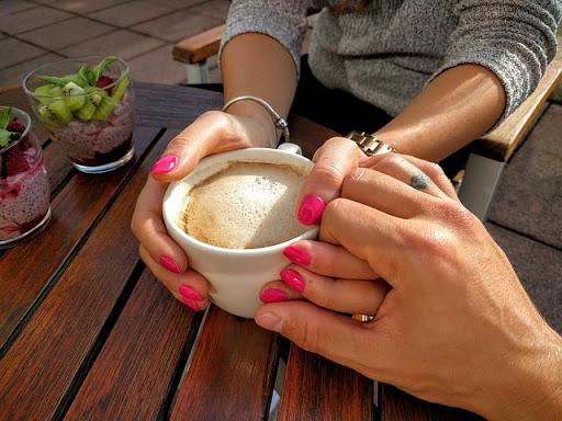 متن عاشقانه کافه