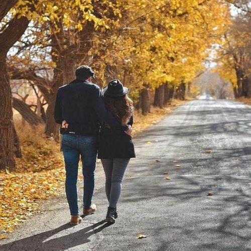 عکس منظره عاشقانه دو نفره
