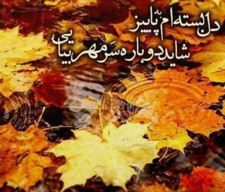 اشعار در مورد پاییز