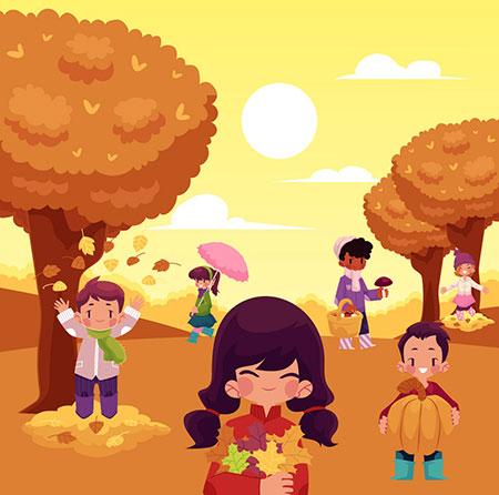 شعر کودکانه پاییز
