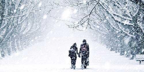 جملات عاشقانه روز سرد