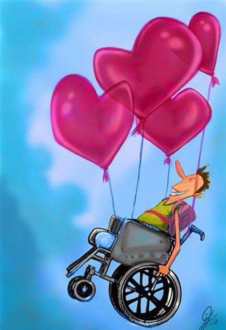 متن زیبا برای افراد معلول + جملات خاص برای افراد کم توان و معلولین عزیز