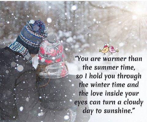 متن انگلیسی در مورد زمستان