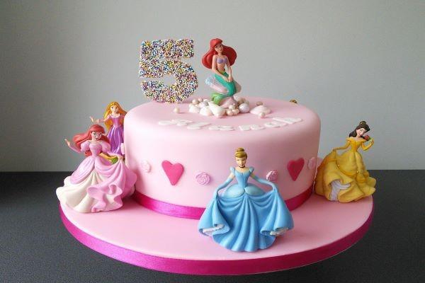 3 ایده کیک تولد برای دختر بچه