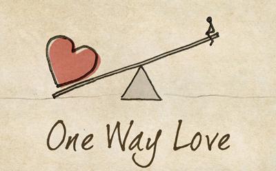 متن عشق یک طرفه